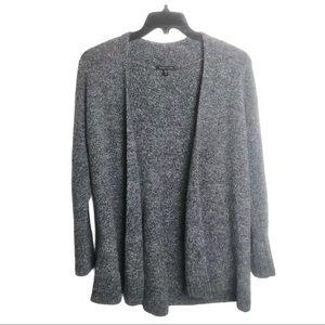 Eileen Fisher Gray Merino Wool Blend Cardigan XL
